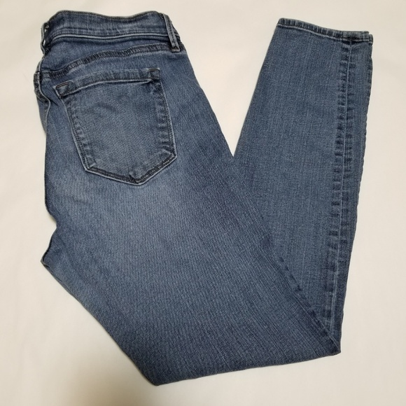 LOFT Medium Wash Modern Skinny Ankle Jeans